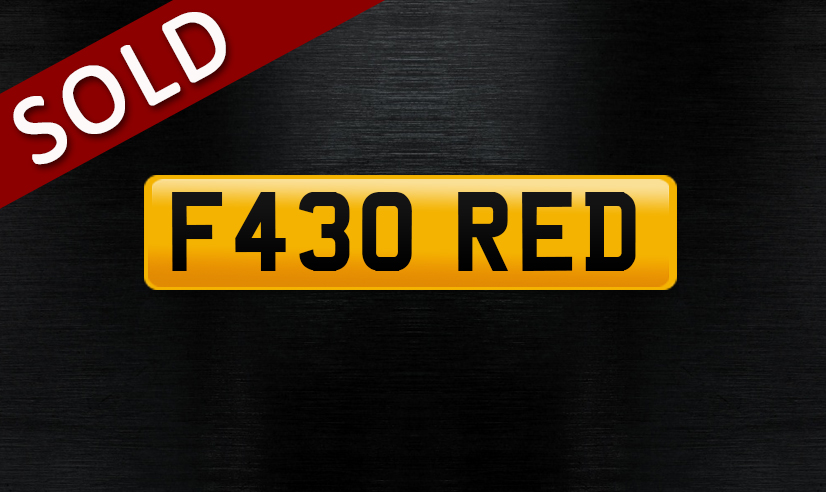 F430 RED_sold
